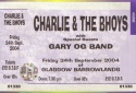 Good Friday 2004 - Another Sold Out Barrowlands Concert