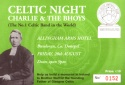 Fund raising night in Bundoran to raise money for the Brother Walfrid Statue which now stands in his home town.